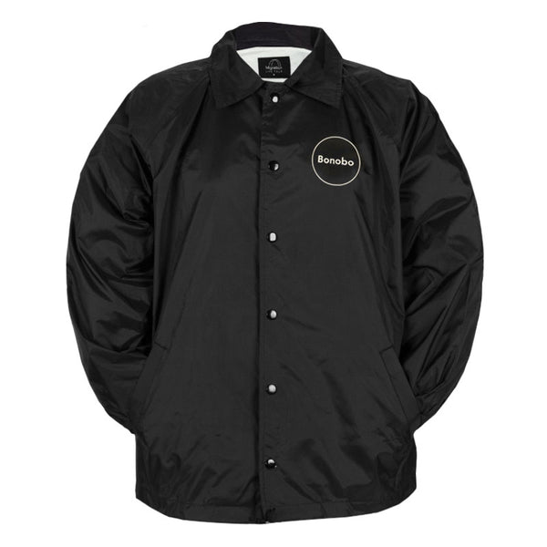 MIGRATION BLACK WINDBREAKER JACKET