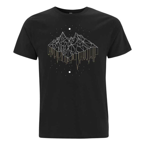 MOUNTAIN CITY BLACK T-SHIRT