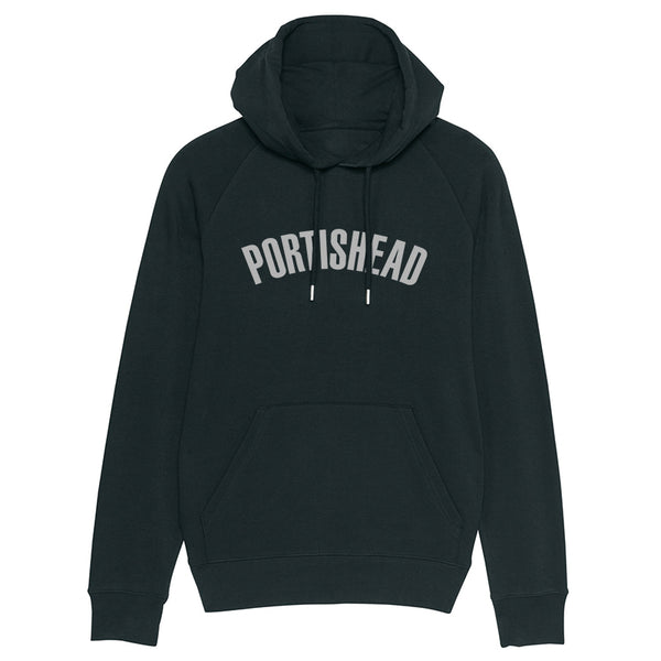 PORTISHEAD FILLED IN LOGO BLACK HOODIE POD