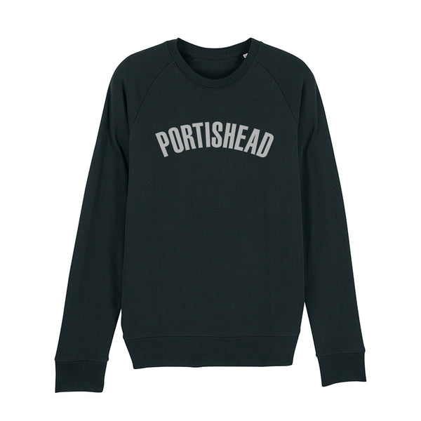 PORTISHEAD FILLED IN LOGO BLACK SWEATSHIRT POD