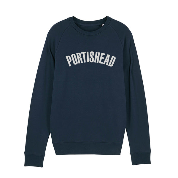 PORTISHEAD FILLED IN LOGO NAVY SWEATSHIRT POD