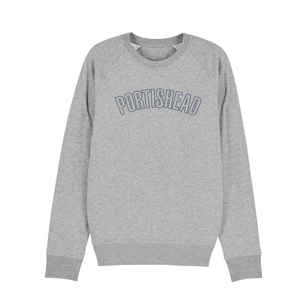 PORTISHEAD OUTLINE LOGO GREY SWEATSHIRT POD
