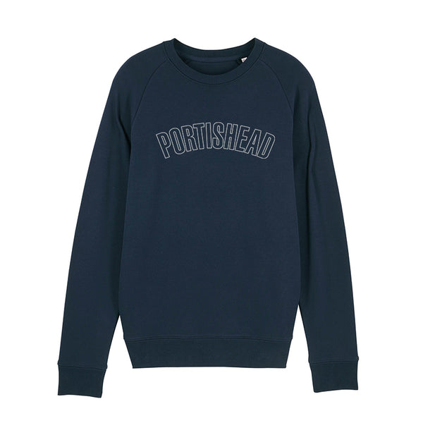 PORTISHEAD OUTLINE LOGO NAVY SWEATSHIRT POD