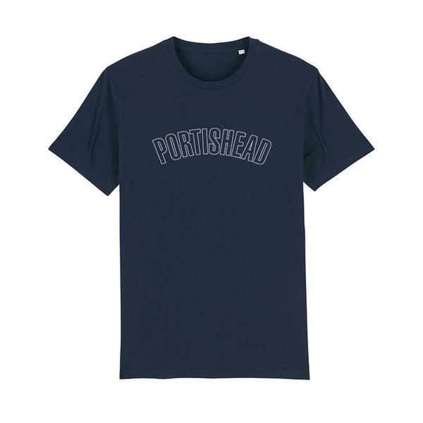 PORTISHEAD OUTLINE LOGO NAVY T-SHIRT