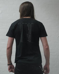 USA Tour Black T-Shirt