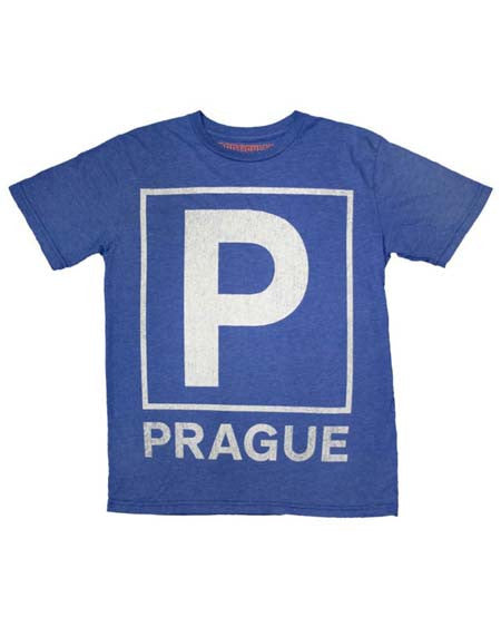 Royal Blue Prague Event T-Shirt