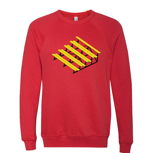 LITERALLY BLEACHERS CREWNECK