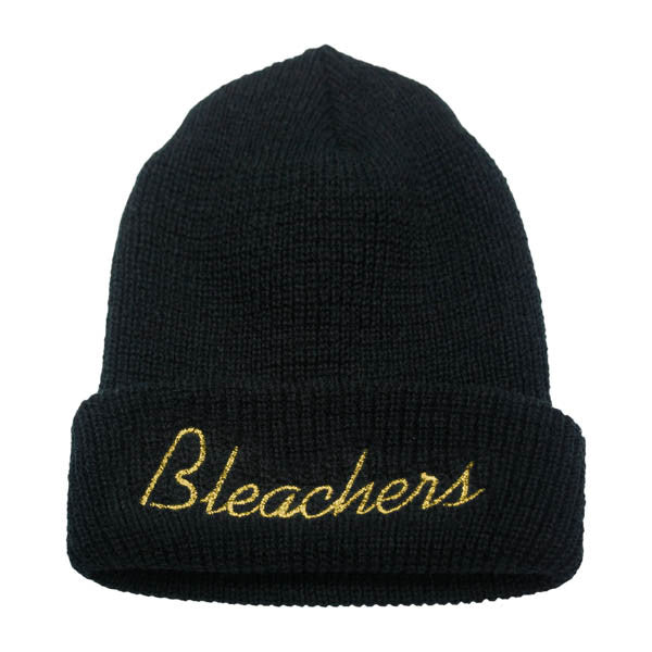 EMBROIDERED BEANIE (GOLD)