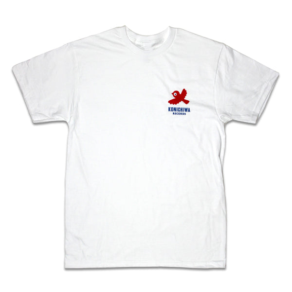 KONICHIWA RECORDS WHITE T-SHIRT