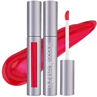 runway red opaque lip gloss