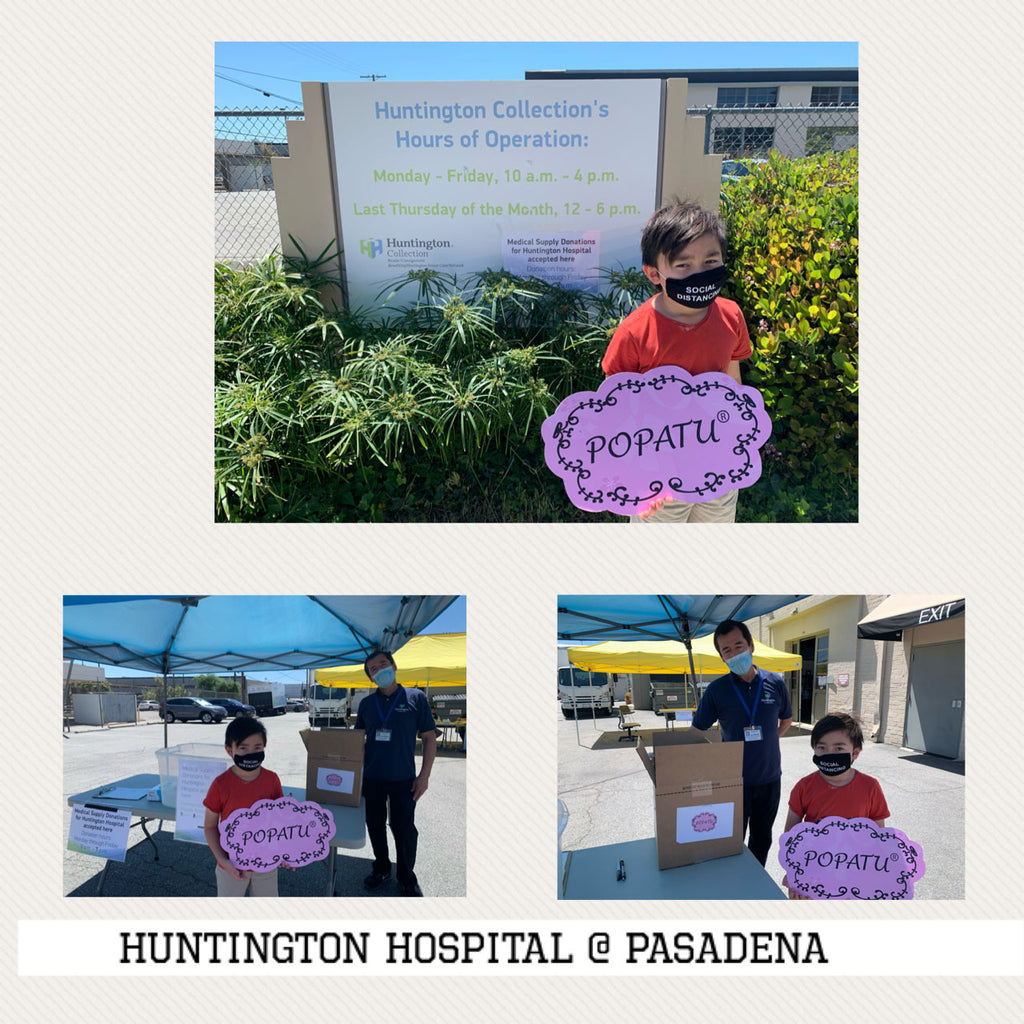 Donation to Huntington Hosptial on 4/24/20
