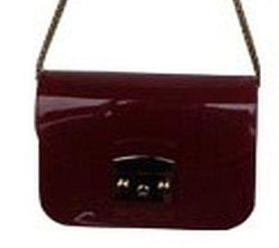 Popatu Burgundy Jelly Purse - Popatu pageant and easter petti dress