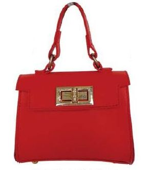 Popatu Red Handbag - Popatu pageant and easter petti dress