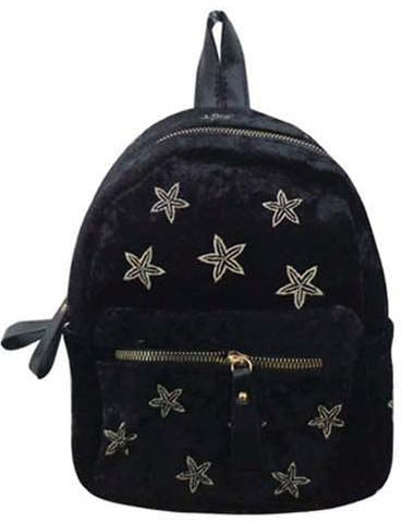 Popatu Black Stars Mini Backpack - Popatu pageant and easter petti dress