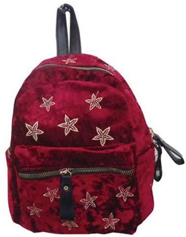 Popatu Red Stars Mini Backpack - Popatu pageant and easter petti dress