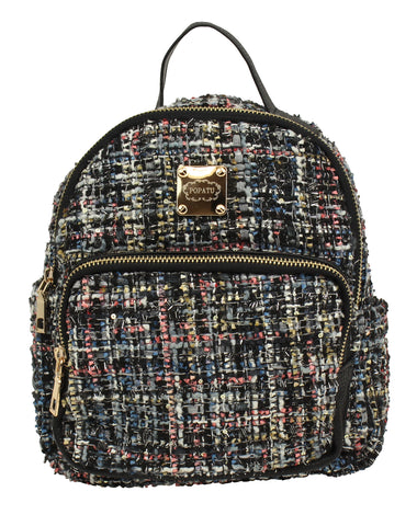 Popatu Black Mini Backpack - Popatu pageant and easter petti dress