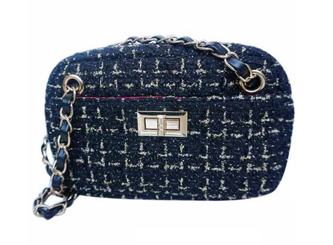 Little Girl's Tweed Crossbody Purse