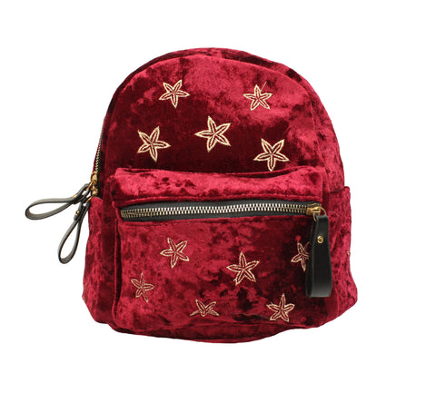 Popatu Red Stars Mini Backpack