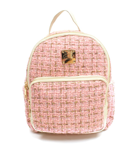 Popatu Pink Mini Backpack