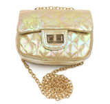 Gold Foil Cross Body Purse