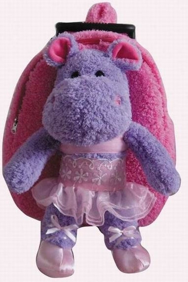 Popatu Hippo Rolling Backpack - Popatu pageant and easter petti dress