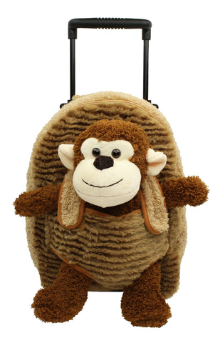 Popatu Monkey Rolling Backpack - Popatu pageant and easter petti dress