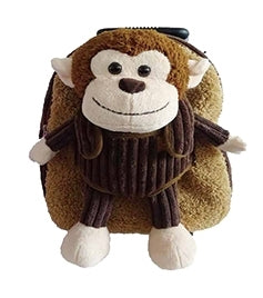 Popatu Monkey Brown Rolling Backpack - Popatu pageant and easter petti dress