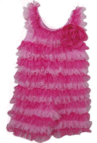 Baby Girl's All Ruffle Romper