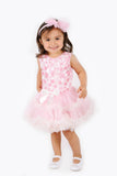 Popatu Girls Flower Petti Ruffle Dress - Popatu pageant and easter petti dress