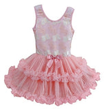 Little Girls Butterfly Ruffle Dress - Popatu