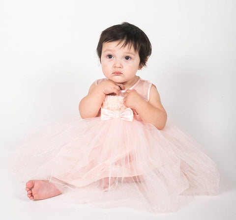 Popatu Baby Princess Tulle Dress - Popatu pageant and easter petti dress