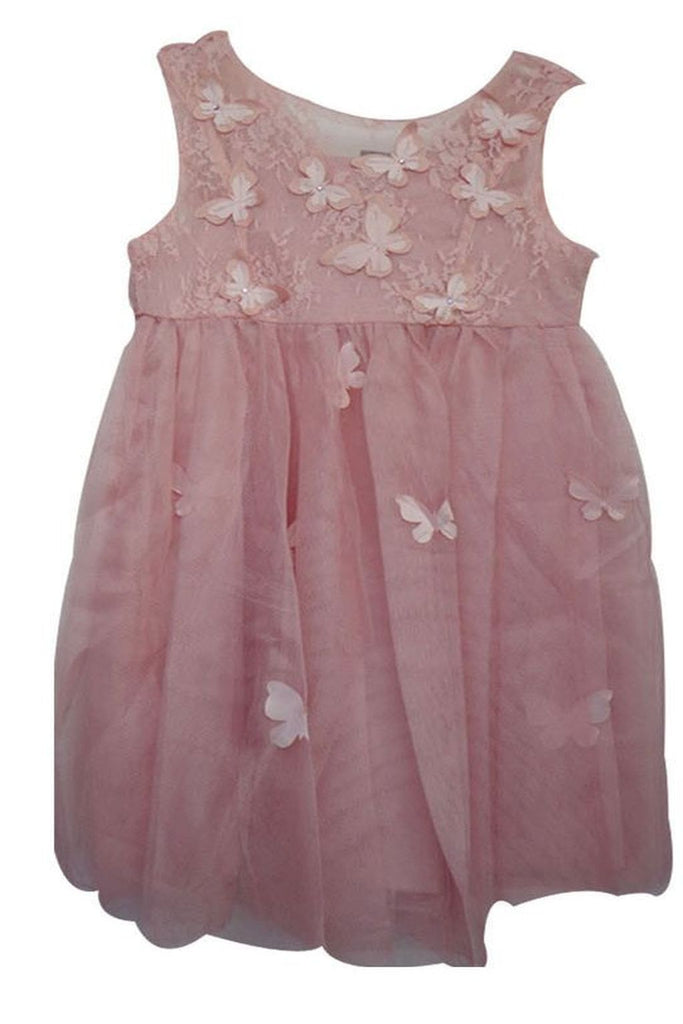 Popatu Little Girls Butterfly Dress