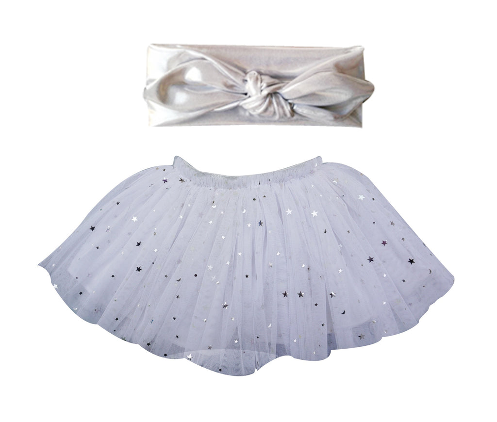 Dress-Up Tutu/Headband Set - Popatu pageant and easter petti dress