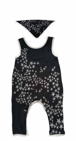 Black Star Baby Bodysuit - Popatu pageant and easter petti dress
