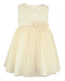 Little Girl's Ivory Tulle Dress - Popatu pageant and easter petti dress