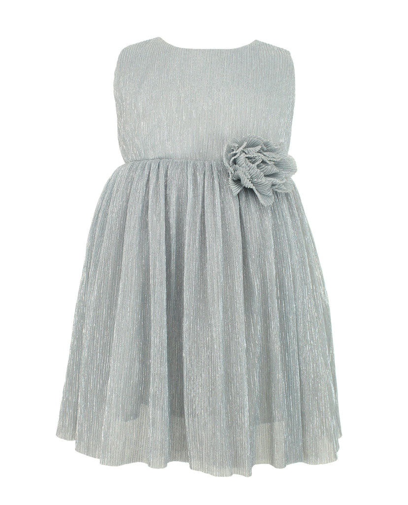 Little Girl's Shimmery Party Dress