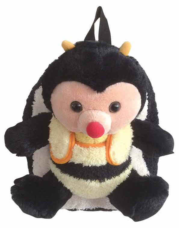 Black Bumble Bee Backpack with Removeable Plush - Popatu pageant and easter petti dress