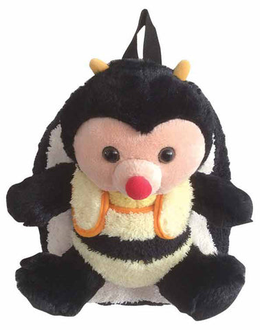 Bumble Bee Backpack with Removeable Plush-THIS IS NOT A ROLLING BACKPACK! - Popatu pageant and easter petti dress