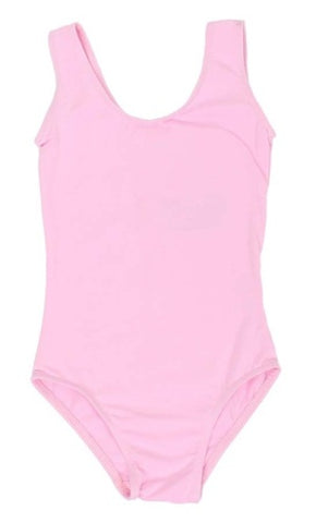 Popatu Little Girl Dance Leotard Tank - Popatu pageant and easter petti dress