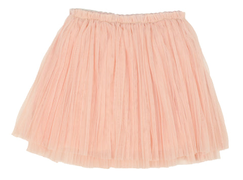 Popatu Little Girls Dusty Pink Tutu Skirt - Popatu pageant and easter petti dress