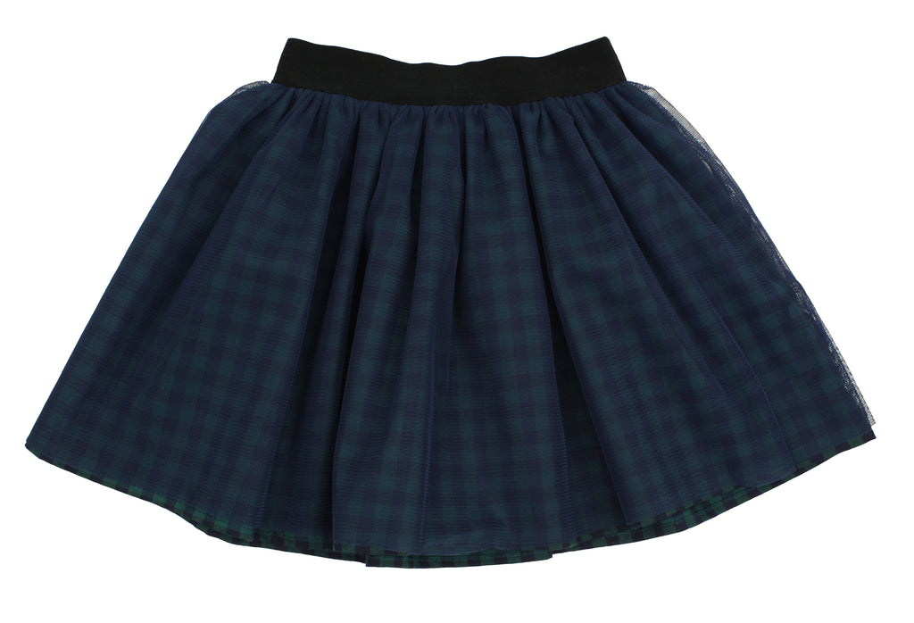 Baby Girls Buffalo Check Skirt