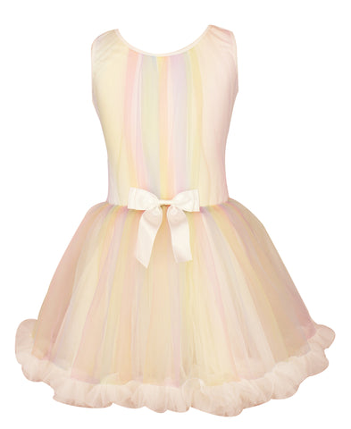 Girl's Rainbow Petti Dress