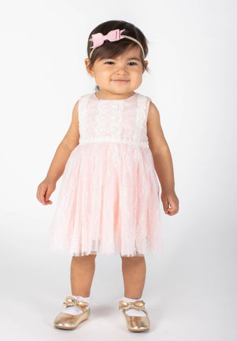 Baby Girls Floral Lace Dress