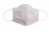 Light Pink Fabric Face Mask (Adult/Child Sizes) - Popatu pageant and easter petti dress
