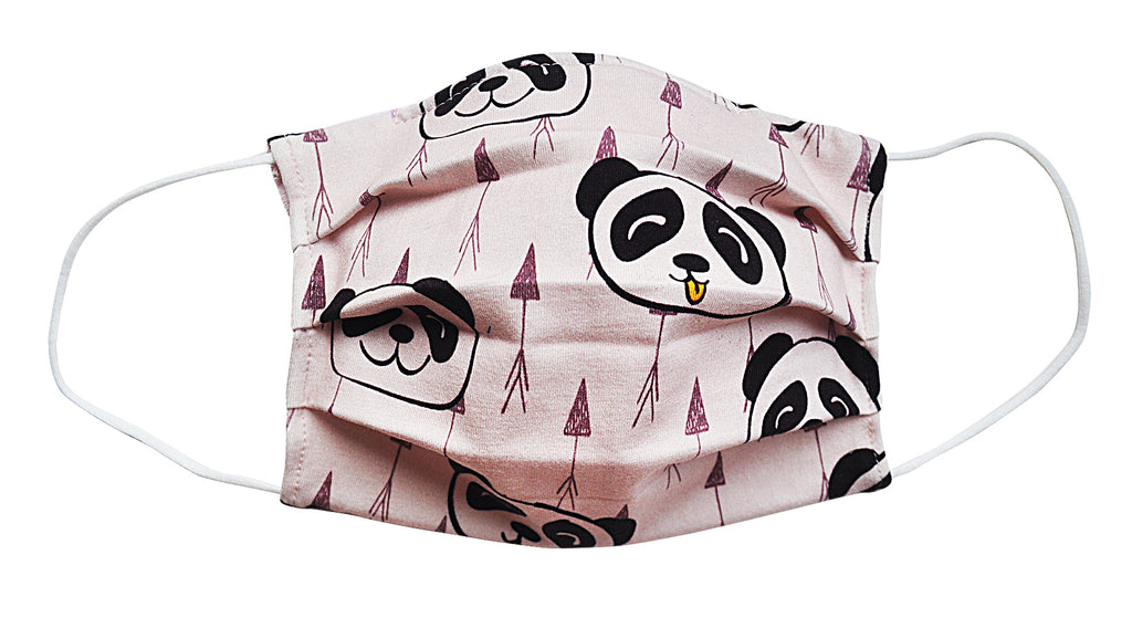 Panda Fabric Face Mask (Adult/Child) - Popatu pageant and easter petti dress