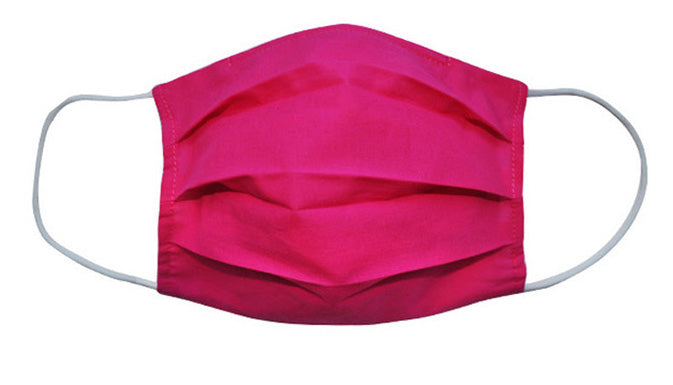 Hotpink Fabric Face Mask (Adult/Child Sizes) - Popatu pageant and easter petti dress