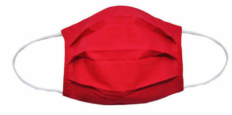 Red Fabric Face Mask-(Adult/Child Sizes) - Popatu pageant and easter petti dress