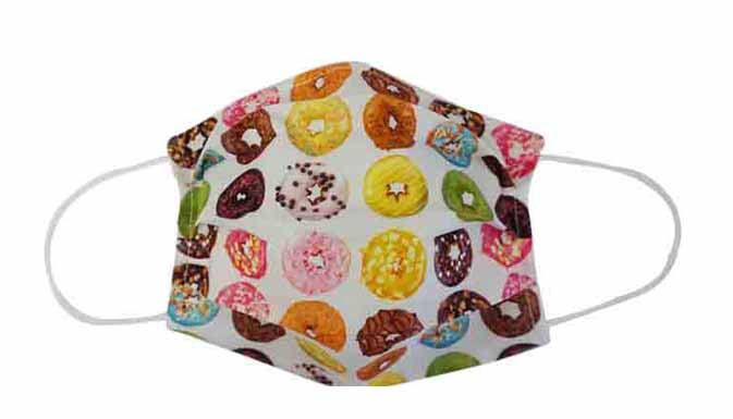 Donuts Fabric Face Mask (Adult/Child)