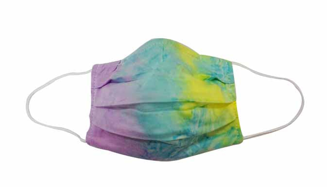 TieDye Fabric Face mask (Adult)