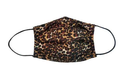 Leopard Fabric Face Mask (Adult/Child)